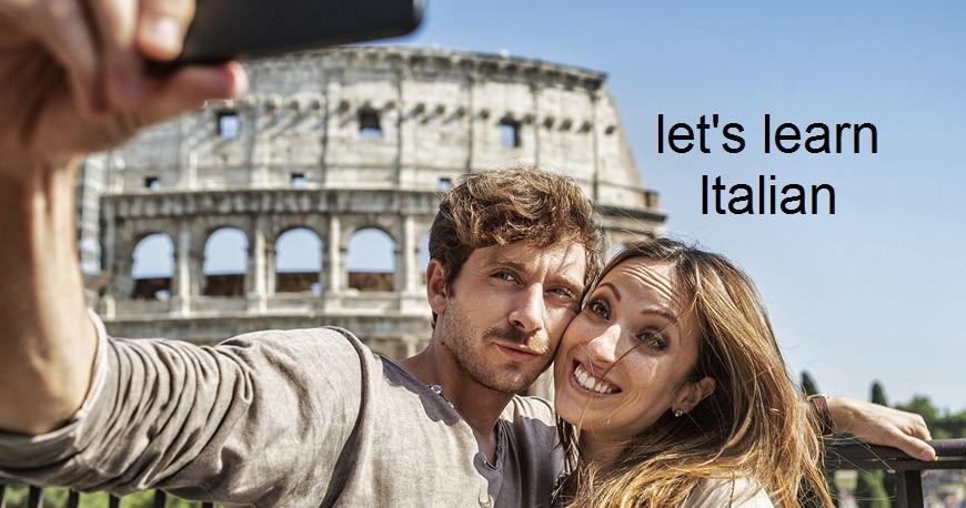 let's learnI talian-μαθήματα Ιταλικά